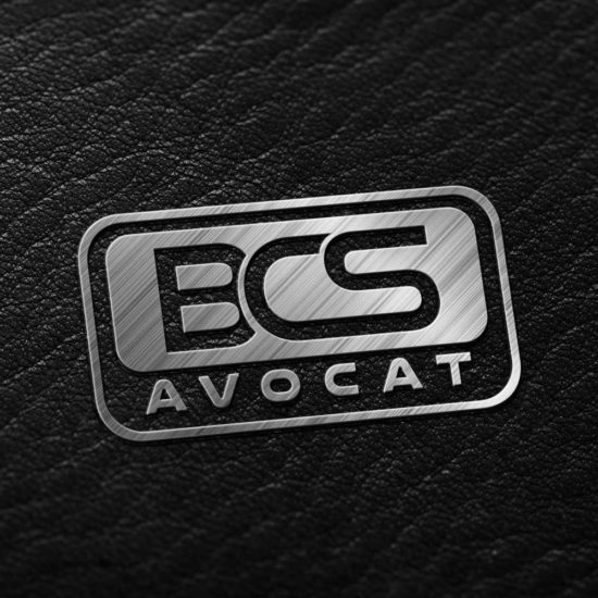 BCS Avocat logo and multilingual website