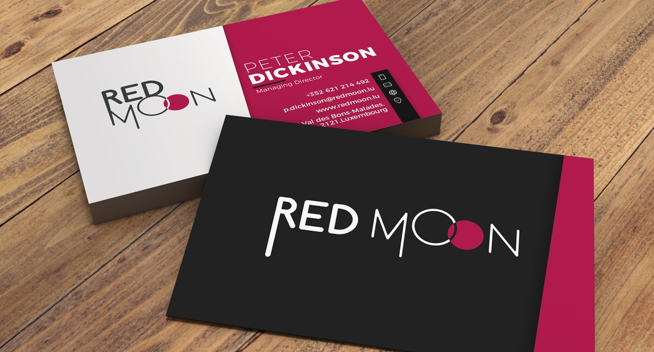 RedMoon Luxembourg Corporate Identity project
