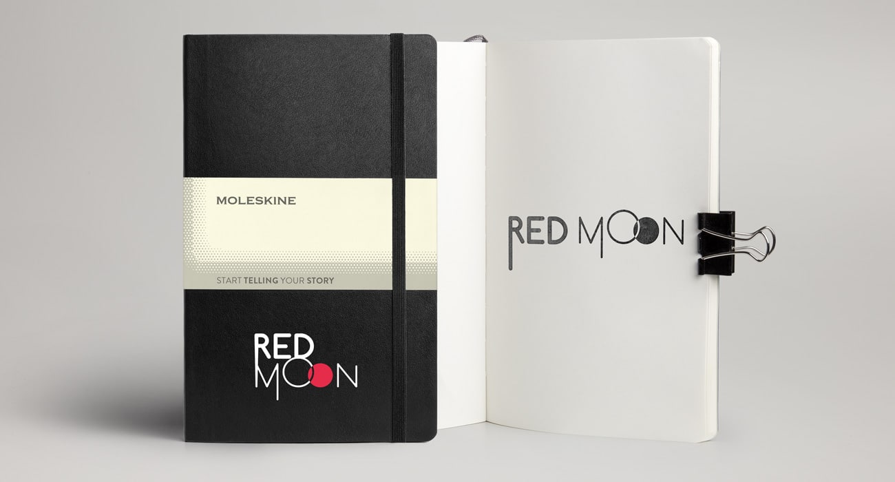 RedMoon Molskine Notebooks