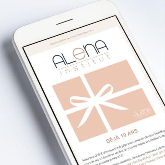 Alena Institut Email Campaigns