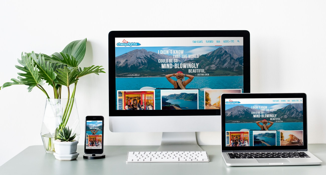 Cheap Flights Blog Website Project