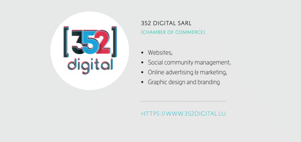 352 DIgital is Made in Luxembourg
