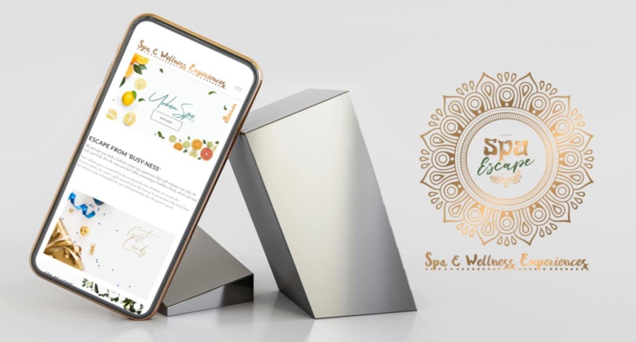 Spa Escape mobile-optimised eCommerce solution