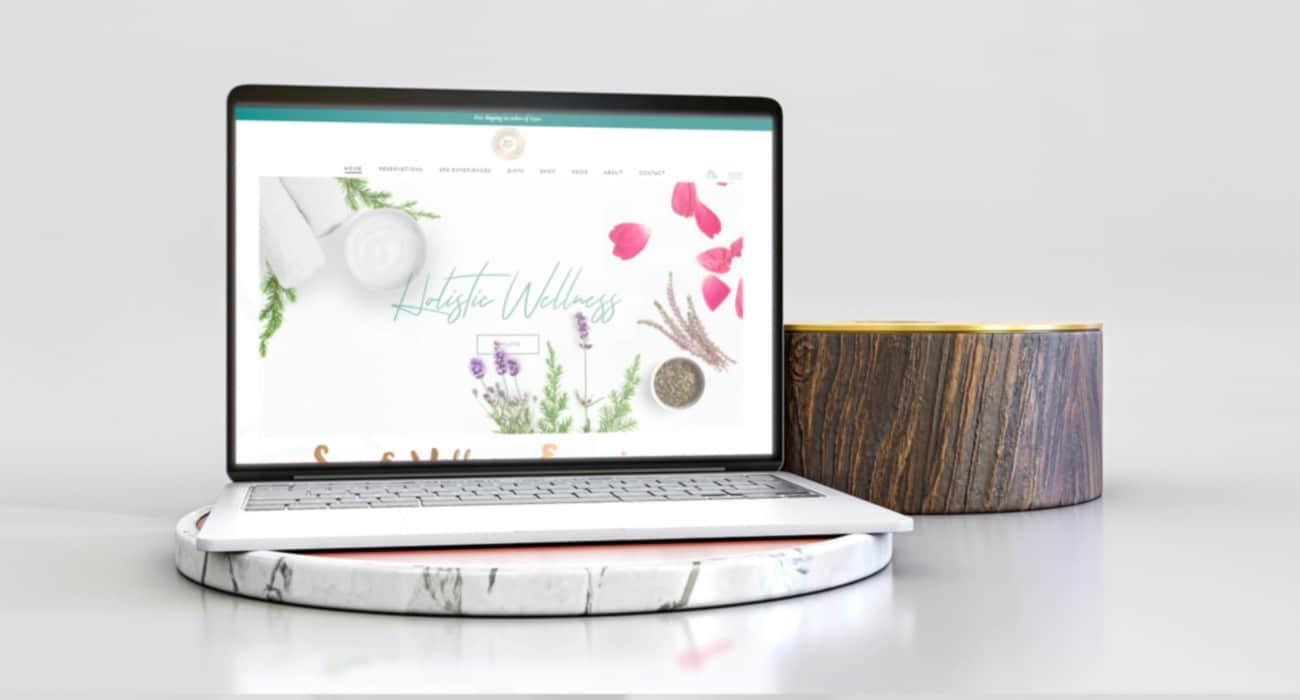 Spa Escape eCommerce website